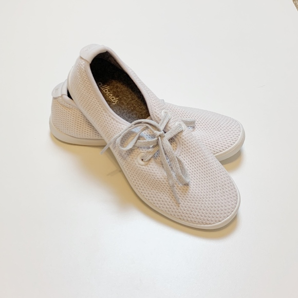 Allbirds Women/'s Tree Skippers Chalk//White Sole Comfort Shoes NW//OB